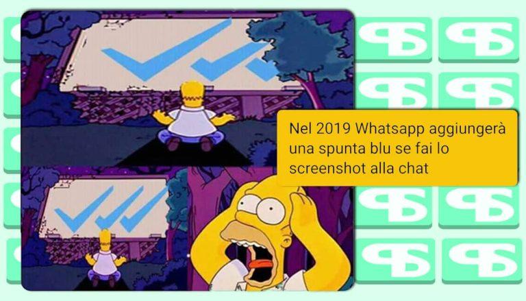 È in arrivo la TERZA spunta blu di WhatsApp? No! Ma nel 2019….