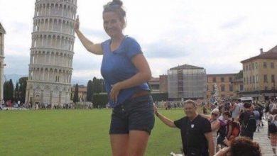 Photo of La donna stava cedendo sotto il peso della grande torre cadente. Per fortuna intervenne un suo piccolo amico a salvarle entrambe