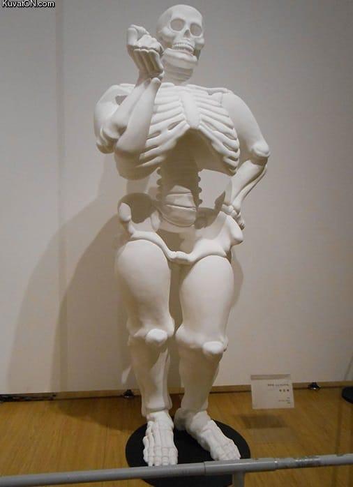 Aveva ragione. Non era grassa, aveva solo le ossa grandi