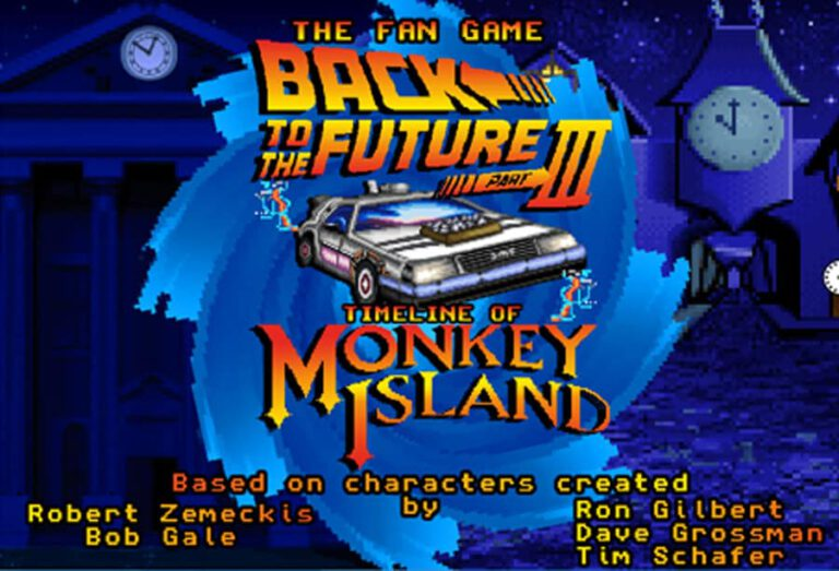 Il Ritorno di Monkey Island: Back to the Future Part III: Timeline of Monkey Island