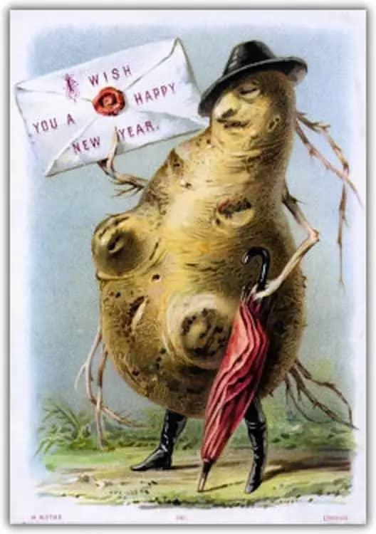 Photo of Questa gigante patata mutante è giunta fino a noi per augurarci un orrifico anno nuovo
