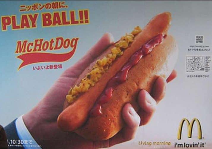 Perché McDonalds non vende Hot Dog?