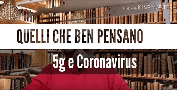Quelli Che Ben Pensano: 5G e Coronavirus