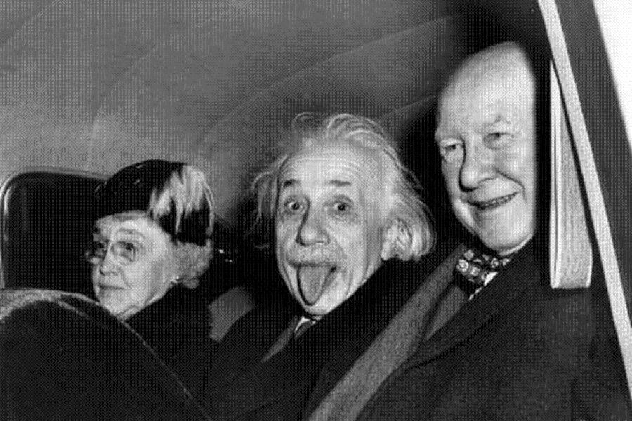 La storia dell'iconica foto della linguaccia di Albert Einstein